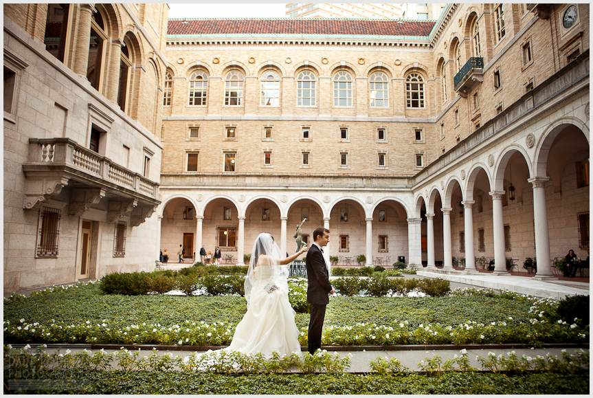 BOSTON PUBLIC LIBRARY WEDDING - DAVE ROBBINS PHOTOGRAPHY 00012