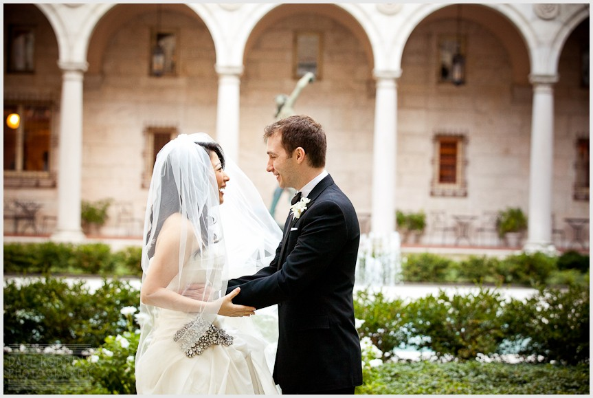 BOSTON PUBLIC LIBRARY WEDDING - DAVE ROBBINS PHOTOGRAPHY 00013