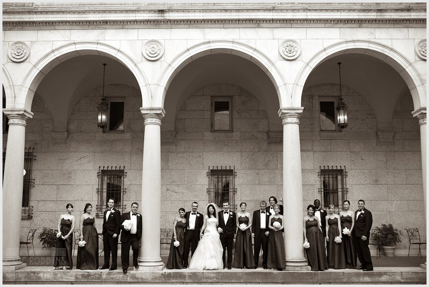 BOSTON PUBLIC LIBRARY WEDDING - DAVE ROBBINS PHOTOGRAPHY 00017