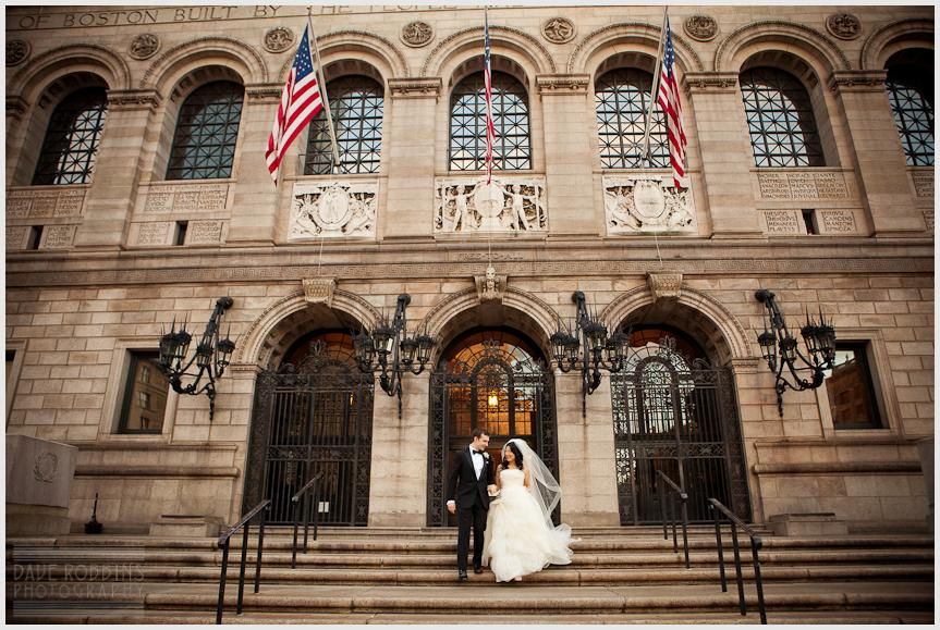 BOSTON PUBLIC LIBRARY WEDDING - DAVE ROBBINS PHOTOGRAPHY 00018
