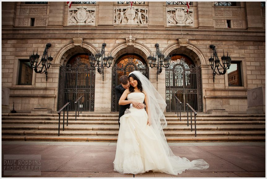 BOSTON PUBLIC LIBRARY WEDDING - DAVE ROBBINS PHOTOGRAPHY 00019