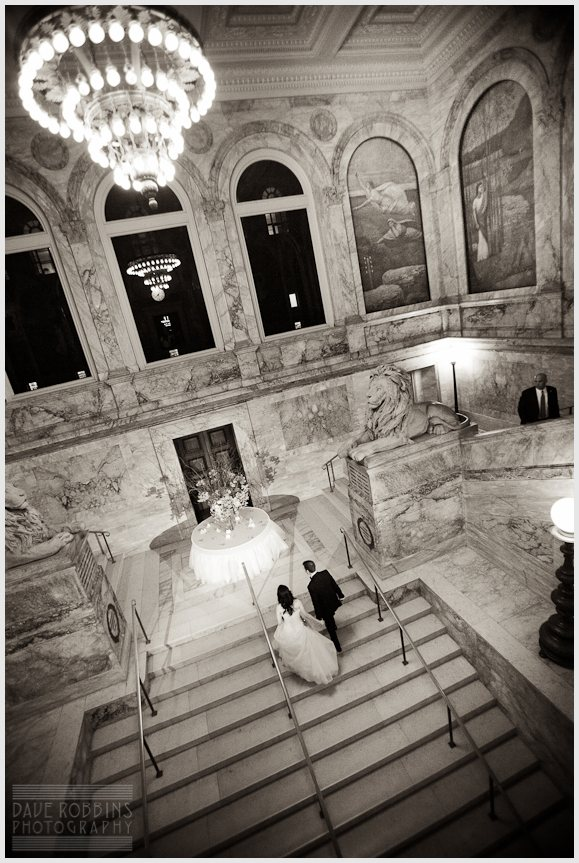 BOSTON PUBLIC LIBRARY WEDDING - DAVE ROBBINS PHOTOGRAPHY 00043