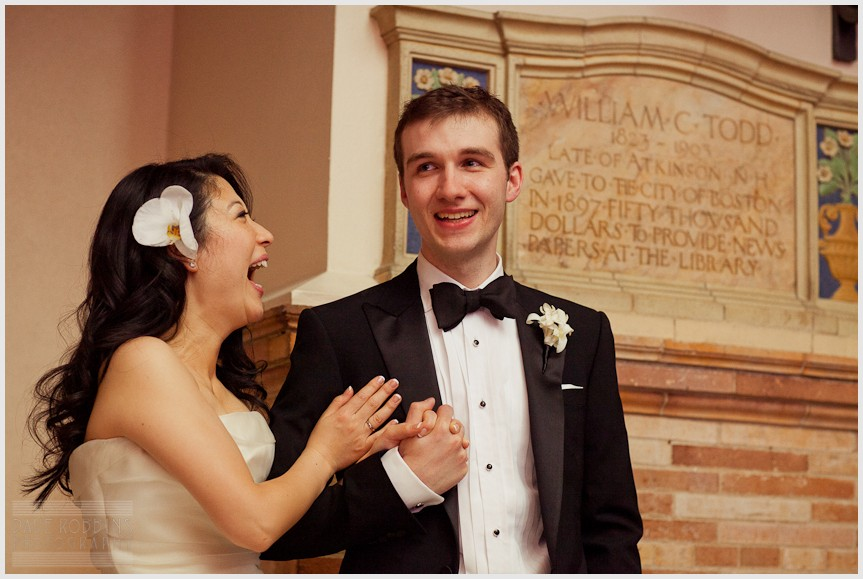 BOSTON PUBLIC LIBRARY WEDDING - DAVE ROBBINS PHOTOGRAPHY 00048