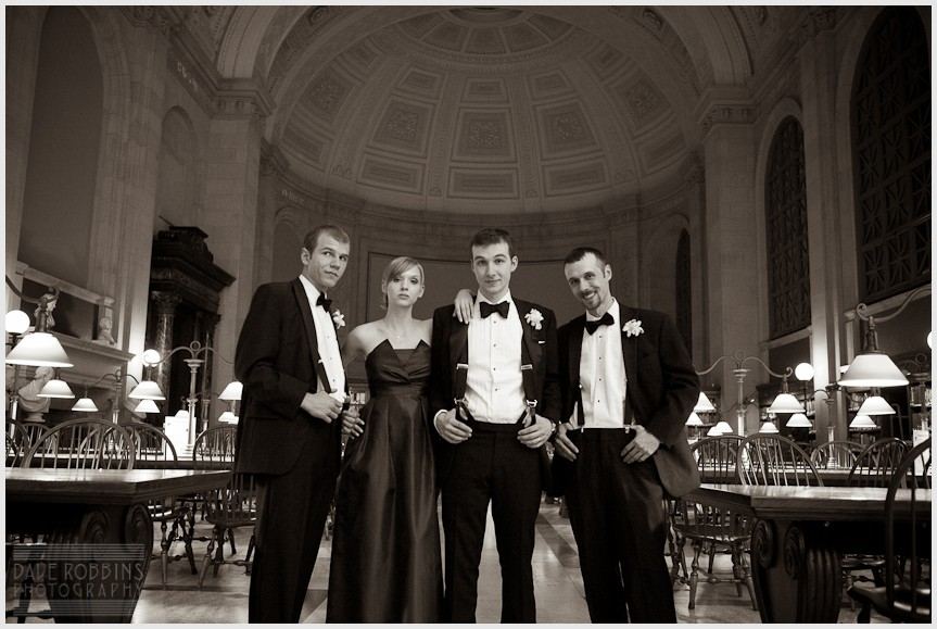 BOSTON PUBLIC LIBRARY WEDDING - DAVE ROBBINS PHOTOGRAPHY 00051