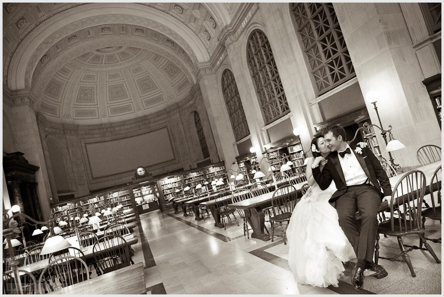 BOSTON PUBLIC LIBRARY WEDDING - DAVE ROBBINS PHOTOGRAPHY 00054